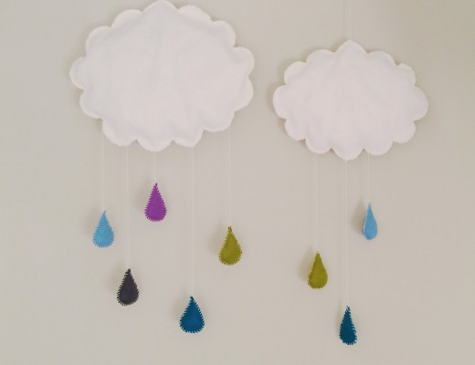 Regnmoln mobil barnrum