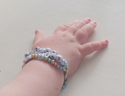 Armband komma bort telefon namn
